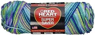 Red Heart Bulk Buy Super Saver Yarn (3-Pack) Wildflowers E300-3955