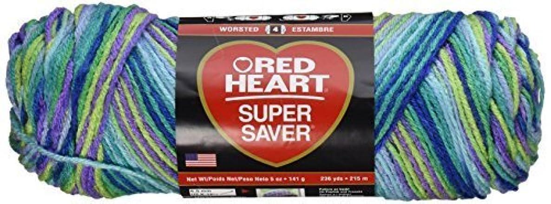 Bulk Buy: Red Heart Super Saver Yarn (3-Pack) Wildflowers E300-3955
