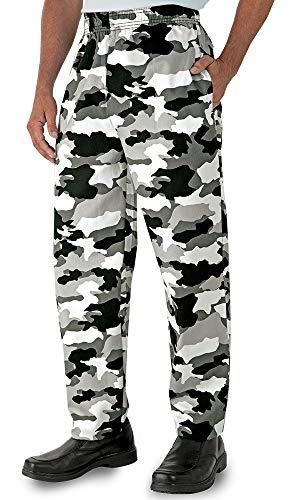 Men's Camouflage Print Chef Pant (XS-3X)