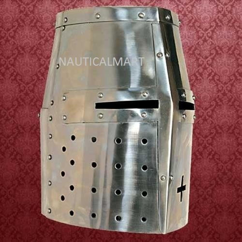 NauticalMart Medieval Steel Crusader Helmet