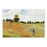 CanvasArts Mohnblumenfeld - Claude Monet - Poster -