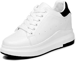[レモンツリーセブン] 2018年 スニーカー ハイカット レディース 靴 インヒール 白 グッズ 厚底 黒 シューズ カジュアル ランニング シューズ 日常着用 靴
