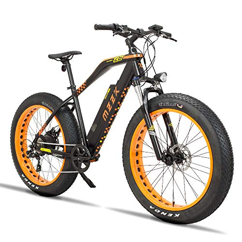 MZZK Electric Bike 7-Speed Powerful E-Bike with 48V Lithium Battery & Multi-Function Display