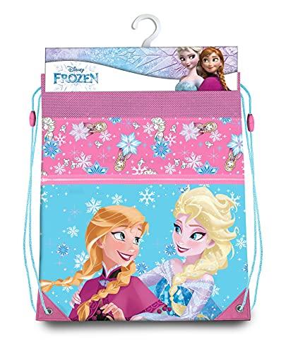 Frozen Gym Bag 42 cm Sporttasche für Fitness und Training für Kinder, Jugendliche, Unisex, mehrfarbig, 42 cm