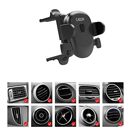 Car Phone Mount for Applicable Mercedes-Benz Mobile Phone Holder e c-Class gla200glc260c260e300a200l,A3 Q2,Ford Mustang,Volkswagen Tiguan,Mobile Phone Bracket,Black