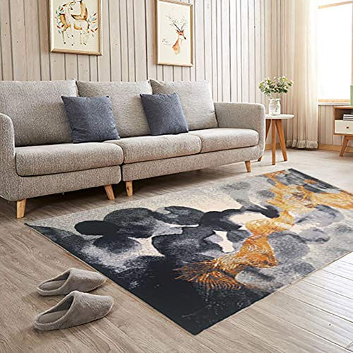 Price comparison product image Luxury Modern Large Area Rug, Machine Weaving Runner Rug Area Rug, Bedroom Living Room Dining Room Carpet, Coffee Table Rugs C 160x230cm / 63x91inch