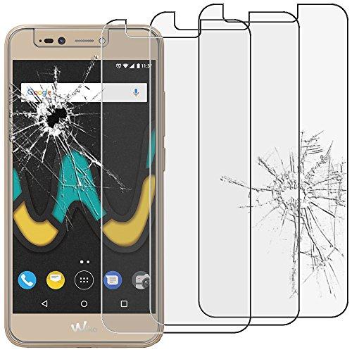 ebestStar - kompatibel mit Wiko Upulse Panzerglas x3 Schutzfolie Glas, Schutzglas Bildschirmschutz, Bildschirmschutzfolie 9H gehärtes Glas [Phone: 153.5 x 77.5 x 8.5mm, 5.5'']