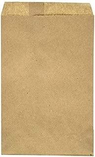 "RJ Displays-Brown Kraft Flat Merchandise & Packaging Bags- Pack of 100 Size-10"" x 13"" Inches"
