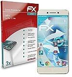 atFolix Schutzfolie kompatibel mit LeEco Le Pro 3 Elite Folie, ultraklare & Flexible FX Bildschirmschutzfolie (3X)
