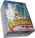 1989 Topps Baseball Cards Box (36 packs) [Toy]