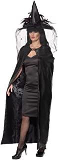 Smiffys Women's Deluxe Witches Cape