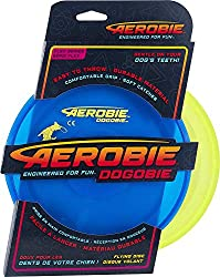 Dogobie Dog Frisbee is soft and durable and won't harm a Dogs teeth or gums.