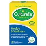 Culturelle Health & Wellness Daily Probiotic Dietary Supplement   Restores Natural Balance of in Digestive Tract*   With the Proven Effective Probiotic†   30 Vegetarian Capsules, Multi