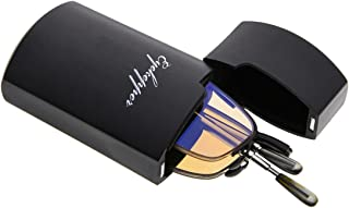 Eyekepper UV Protection Half-rim Folding Reading Glasses Telescopic Arms Readers (Black,+1.50)