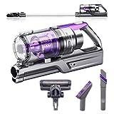 VViViD REV Bigfoot Turbo Purple Cordless Stick Vacuum Cleaner w/Lithium Ion Battery