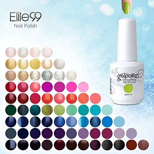 Elite99 Soak Off Gel UV LED Nagellack Nail Art Maniküre 248 Farben Geschenk Set (wählen 8 Farben)