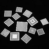 Plantillas BGA plateadas, plantillas térmicas BGA, tarjeta gráfica para comunicaciones de escritorio, placa base, puente norte-sur, portátil
