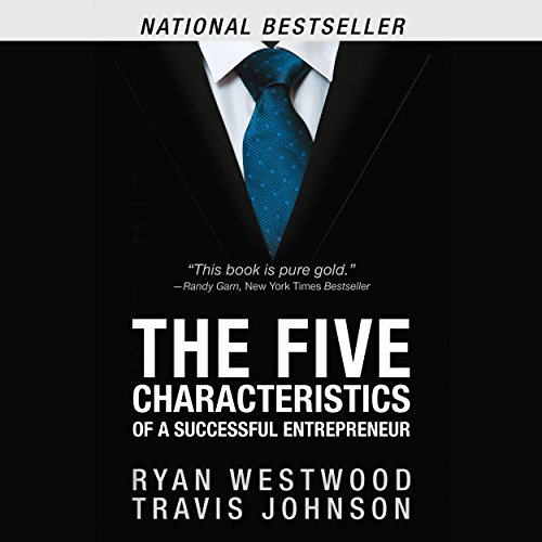 The Five Characteristics of a Successful Entrepreneur audiobook cover art