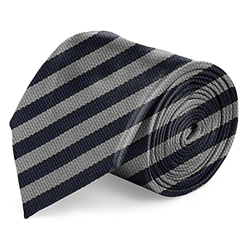 Blacksmith Formal Striped Wrinkle Resistant Necktie for Men Pack of 1 (Regular 3 Inch Width)