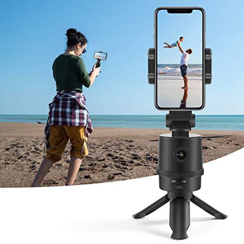 PC Webcam CrazyFire 1080P HD-Webcomputerkamera mit Telefonhalter/Selfie-Stick/Stativ Telefonaufnahme AI-Kamera Objektverfolgung für Skype-Videokonferenz/Vlog-Aufnahme/Live-Übertragung