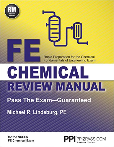 PPI FE Chemical Review Manual (Paperback) – Comprehensive Review Guide for the NCEES FE Chemical Exam