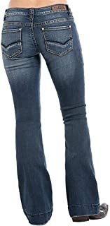 Rock & Roll Cowgirl Mid Rise Extra Stretch Jeans