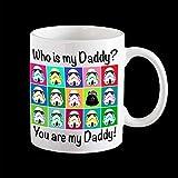 Padre 'S Day tazza, tazza divertente, tazza personalizzata, tazza di Star Wars, tazza di Darth Vader, carta di Star Wars, padre' S Day Card, Darth Vader Pop Art - 11oz