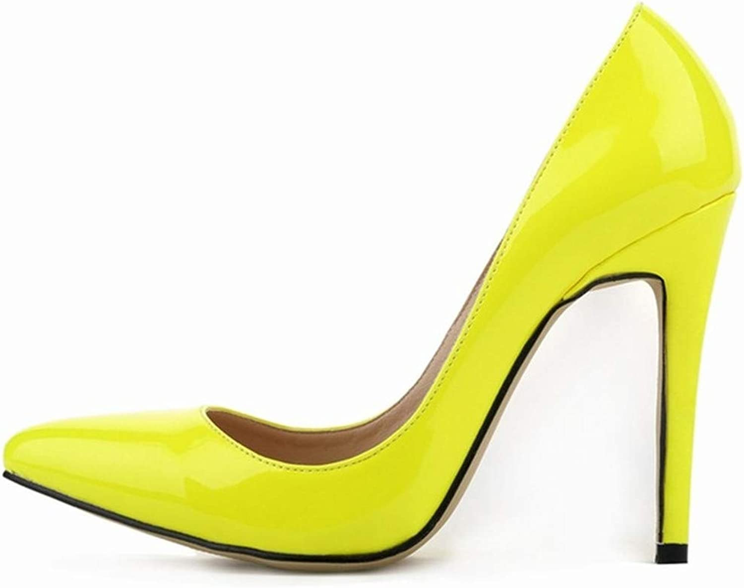 Young Nyjune Pumps shoes New Spring Brand Pumps Sexy Pointed Toe High Heels Women