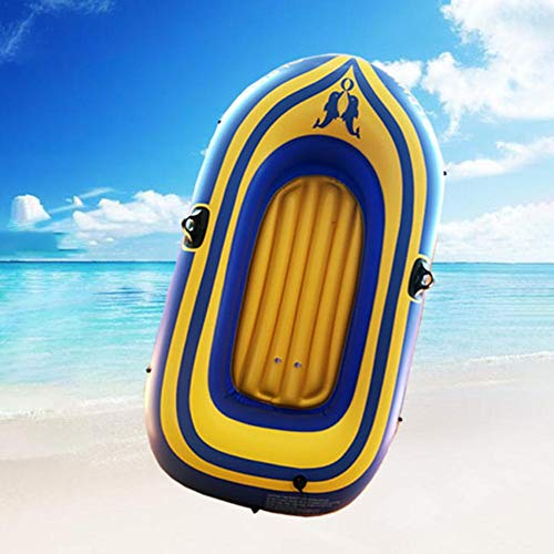 Mumuwa Outdoor Inflatable Kayak with Oar Air Pump Rafting Rubber Boat?Fishing Inflatable Boat? PVC Thickened Double Boat
