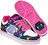Heelys Motion Plus Schuh 2018 White/Denim/Rainbow Foil, 34