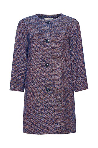 Esprit 038ee1g008 Manteau, Bleu (Blue 430), Medium Femme