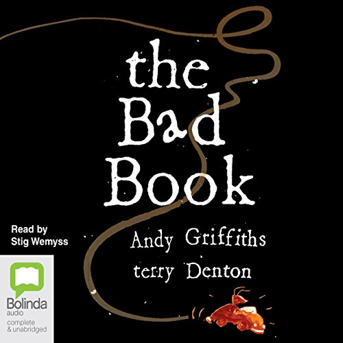 The Bad Book audiobook cover art