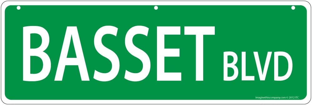 Imagine This Basset Street Sign