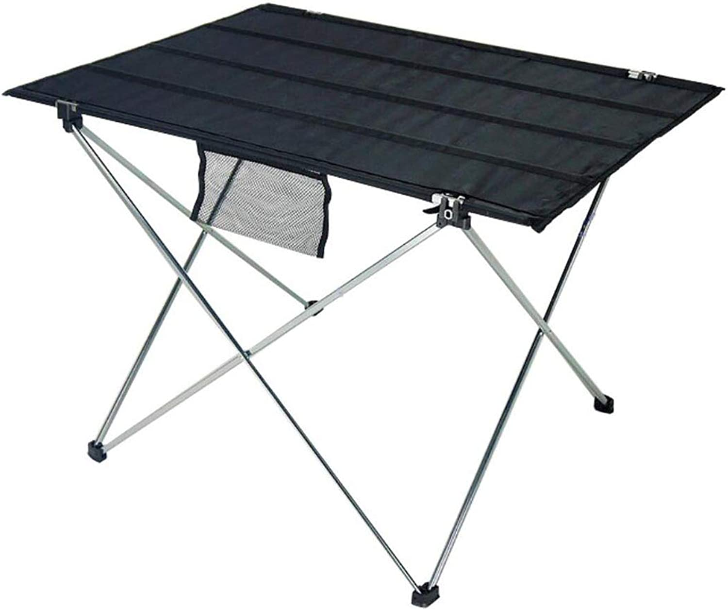 Portable Camping Tables with Aluminum Table Top,Ultralight Folding, Two Sizes,Fit Indoor and Outdoor Picnic, BBQ, Beach, Fishing