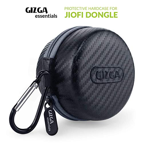 Gizga Essentials G23 Jio Dongle Case for JioFi 4G JMR815 WiFi Hotspot (Black)