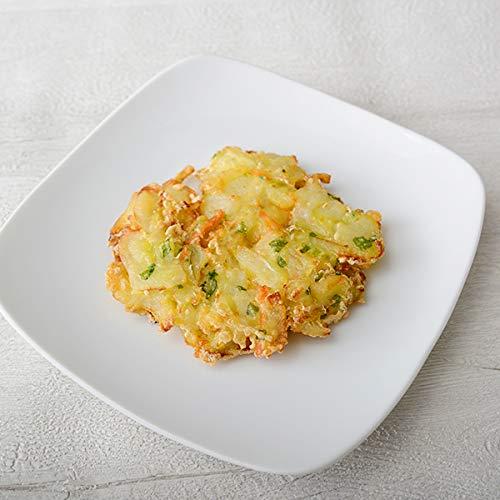贅たくさん 野菜かき揚げR 800g(10個)【冷凍】【UCCグループの業務用食材 個人購入可】【プロ仕様】