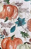 Autumn Breeze New Fall Colors Vinyl Tablecloth (60 Round)