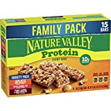 GRANOLA BAR: Nature Valley granola bars are made with whole grain oats, salted caramel, and delicious dark chocolate. REAL INGREDIENTS: Hearty whole grain oats with no artificial flavors, artificial colors, or high fructose corn syrup. PROTEIN: An ex...