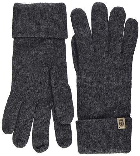 Roeckl Damen Essentials Basic Handschuhe, Schwarz (Anthracite 090), One Size