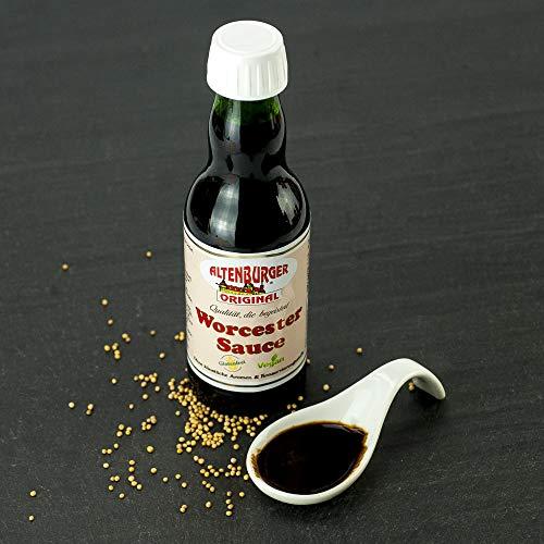 Altenburger Original Worcester Sauce, 200ml, Worcestershire Sauce glutenfrei, laktosefrei, vegan, ohne Zusatz von Aromen - 7