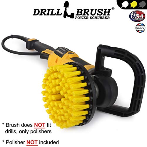 Drillbrush Ronda 18 cm nylon friega cepillo Rotary