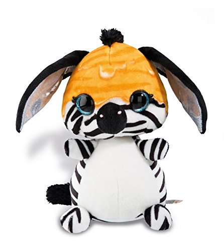 NICI 42147 NICIdoos Kuscheltier Zebra Ijona, 12 cm, bunt, Größe: ca