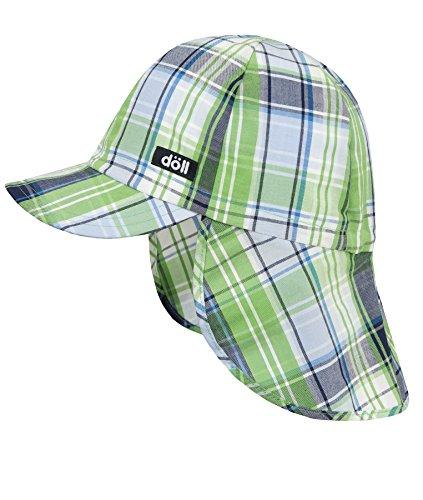 Döll Jungen Mütze Baseballmütze Mit Nackenschutz 1819214755, Grün (Grass Green 5230),49
