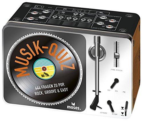 Das Musikquiz: 444 Fragen zu Pop, Rock, Groove und Easy