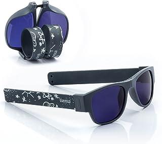 3f12f53a4b Sunfold Tribu Gafas de Sol Enrollables, Hombre