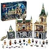 LEGO Harry Potter La Camera dei Segreti di Hogwarts, Set Castello con Sala Grande e Minifigure d'Oro del 20° Anniversario, 76389
