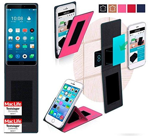 reboon Hülle für Meizu Pro 7 Tasche Cover Case Bumper   Pink   Testsieger