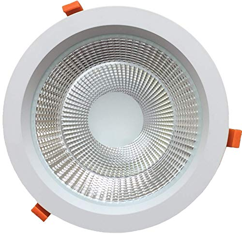 Espled Downlight LED 30W, Empotrable Redondo, Luz Blanca, 30 W