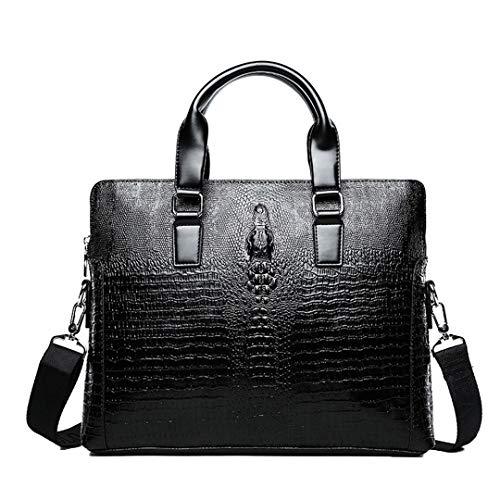 Men's Briefcase Men Handbags Messenger Bags PU Leather Man Bags Shoulder Bag Style Two