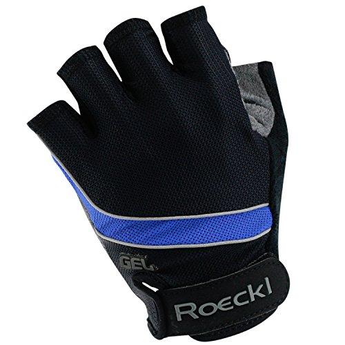 Roeckl Gel Ciclismo Guantes de verano negro-azul, handschuhgröße:7